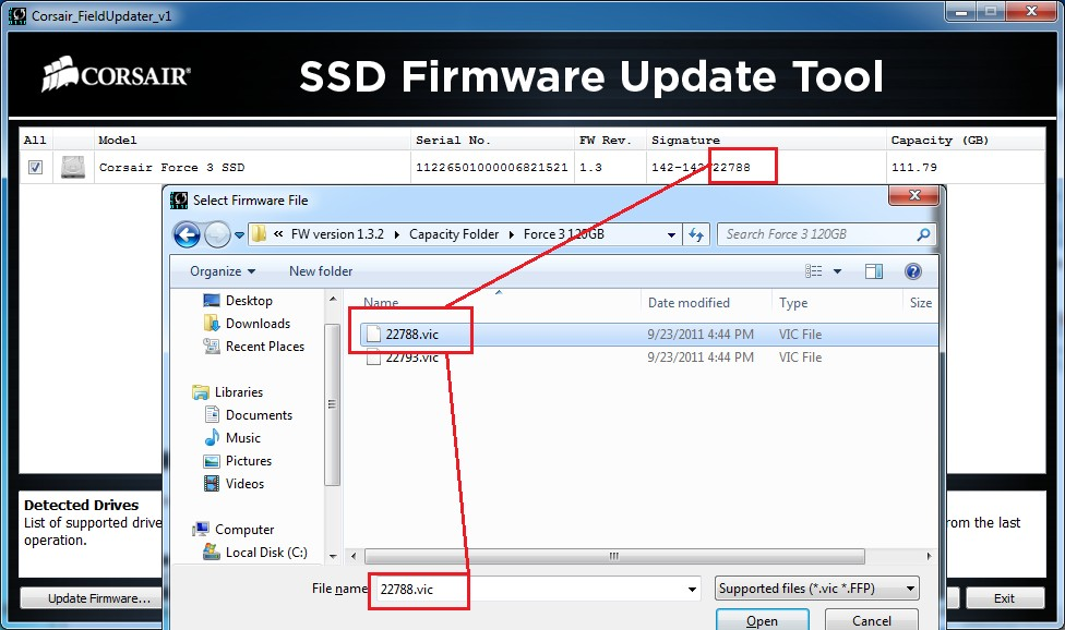SSD Firmware Update Tool