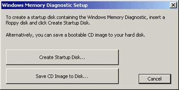 Memory Diagnostic