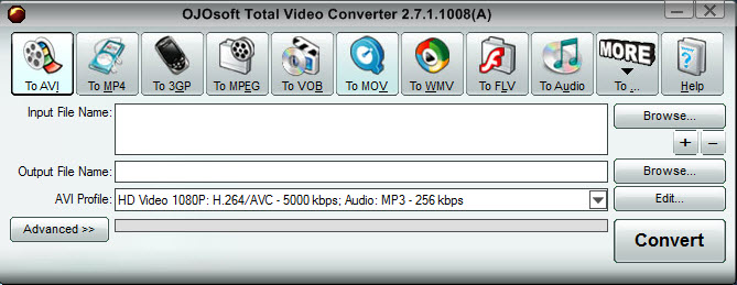 ���������-��������� OJOsoft Total Video Converter