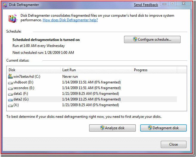 В результате в Windows 7 вы