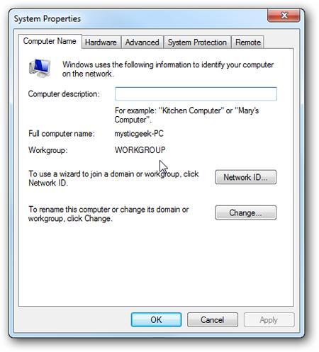 Как настроить общий доступ между windows 7